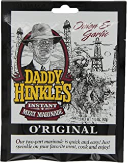 product image for Daddy Hinkle's Original Instant Marinade Mix, 1.5-Ounce (Pack of 24)