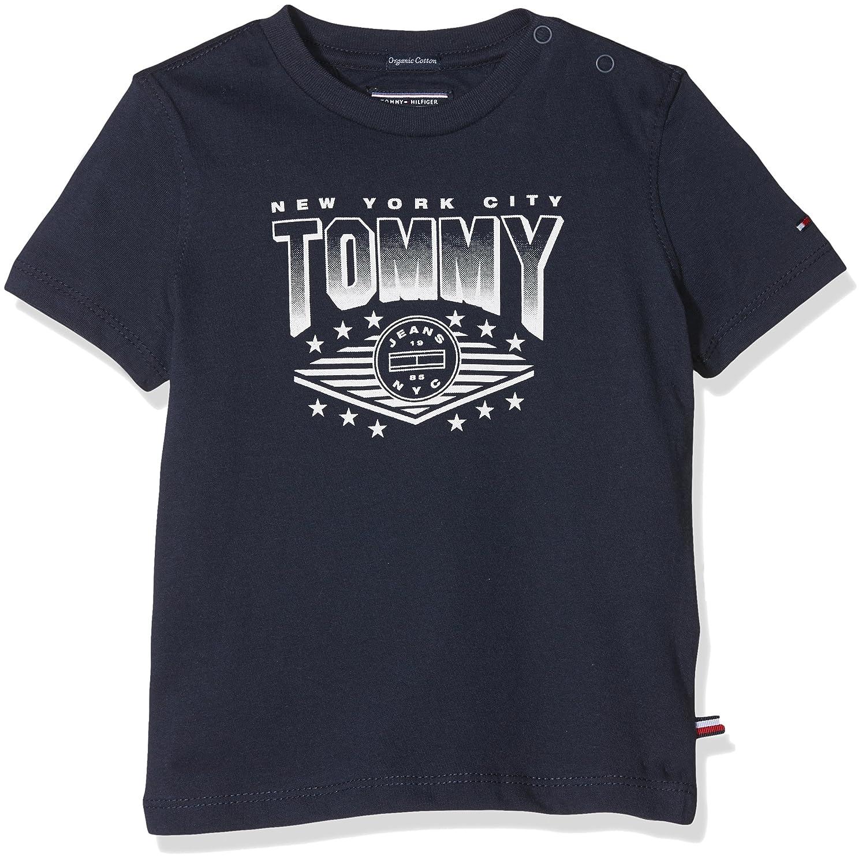 Tommy Hilfiger AME CN Tee S/S, T-Shirt Bimbo Blu (Black Iris 19-3921 002) 86 KB0KB03789
