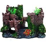 REALAQUA Aquarium Ornaments Resin Ancient Castle Decoration Fish Tank Supplies Accessories Eco-Friendly Castle Aquarium…