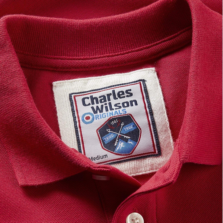 Charles Wilson Polo Classica a Tinta Unita