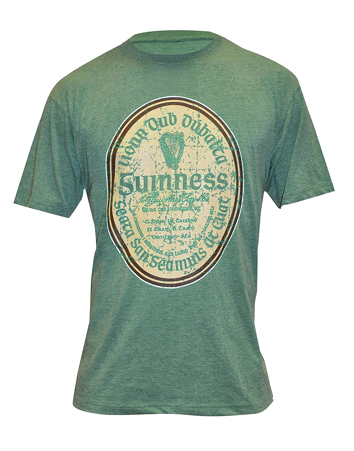 Guinness Green Gaelic Label Tee