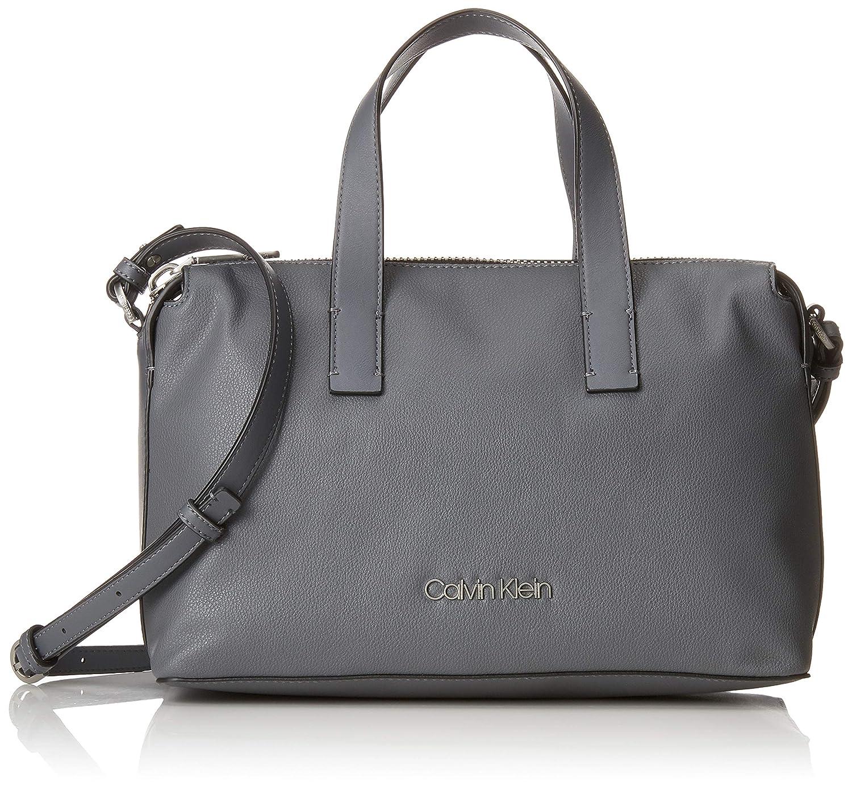 Calvin Klein K60K604463 Tasche Damen Grau (Steel Greystone) 14x21x32 cm Calvin Klein Jeans