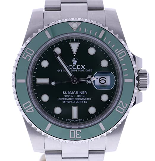 Rolex Submariner automatic-self-wind Mens Reloj 116610LV (Certificado) de segunda mano: Rolex: Amazon.es: Relojes