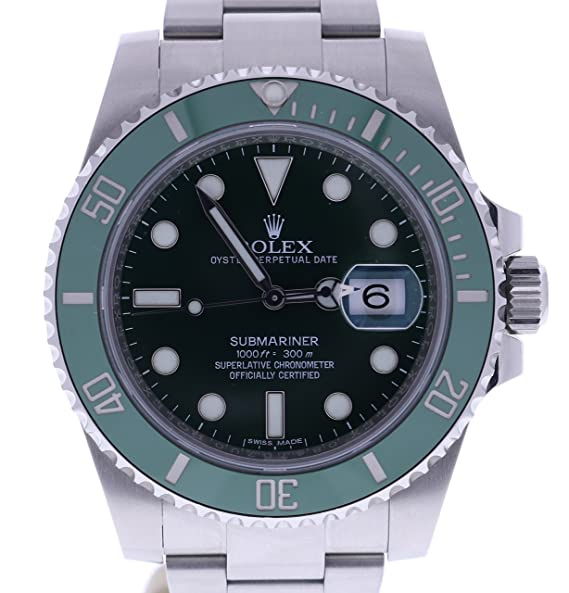 Rolex Submariner automatic-self-wind Mens Reloj 116610LV (Certificado) de segunda mano