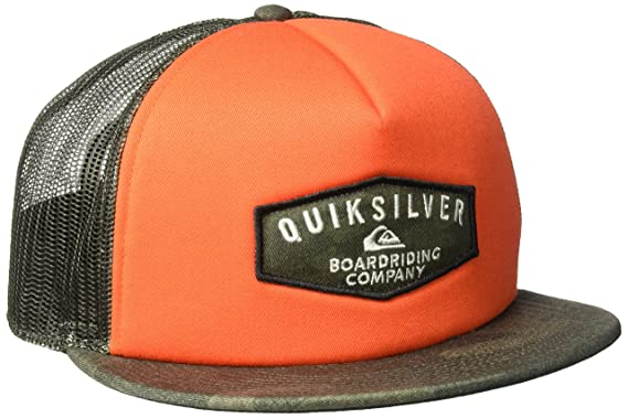 finest selection 0e123 a489e Amazon.com  Quiksilver Men s Jetty Grind Hat, Black, One Size  Clothing