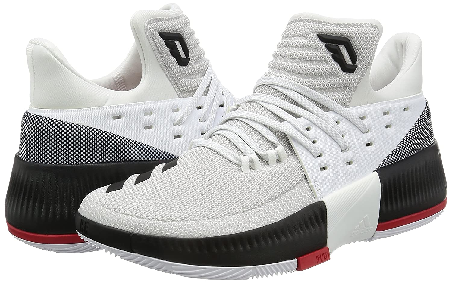 new concept a8a63 b03e2 Amazon.com  adidas D Lillard Dame 3 Mens Basketball SneakersShoes  Shoes
