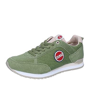 Colmar Travis Colors P/e Sneakers Hombre Green/navy 40 ZWBaNXa