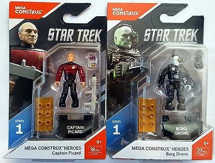 Mega Construx Heroes Series 2 Commander Spock Building Set NEW IN STOCK