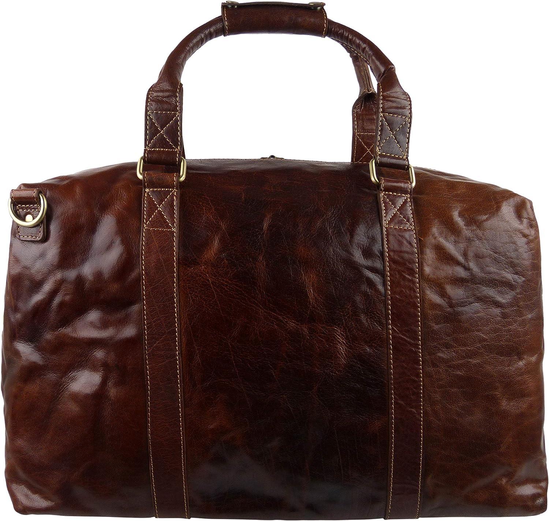 Rowallan of Scotland Womens Buffalo Leather Holdall Travel Bag