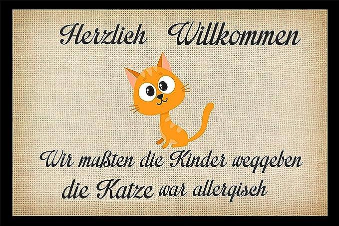 not today Fußabtreter Simons Katze Türmatte Fußmatte Simon/'s Cat Nope
