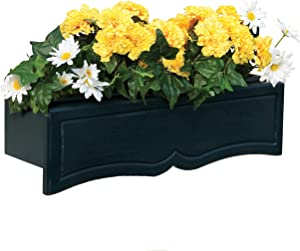 Handy Home Products Wood Flowerbox with Liner, Small