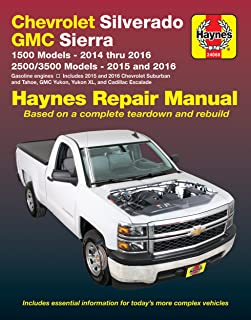amazon com haynes publications inc 24048 repair manual automotive rh amazon com 2002 chevy silverado repair manual pdf 2002 chevy silverado 1500 repair manual