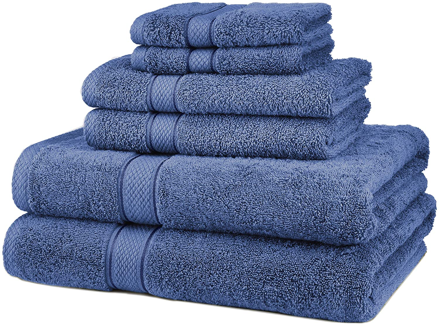 Pinzon 6 Piece Blended Egyptian Cotton Bath Towel