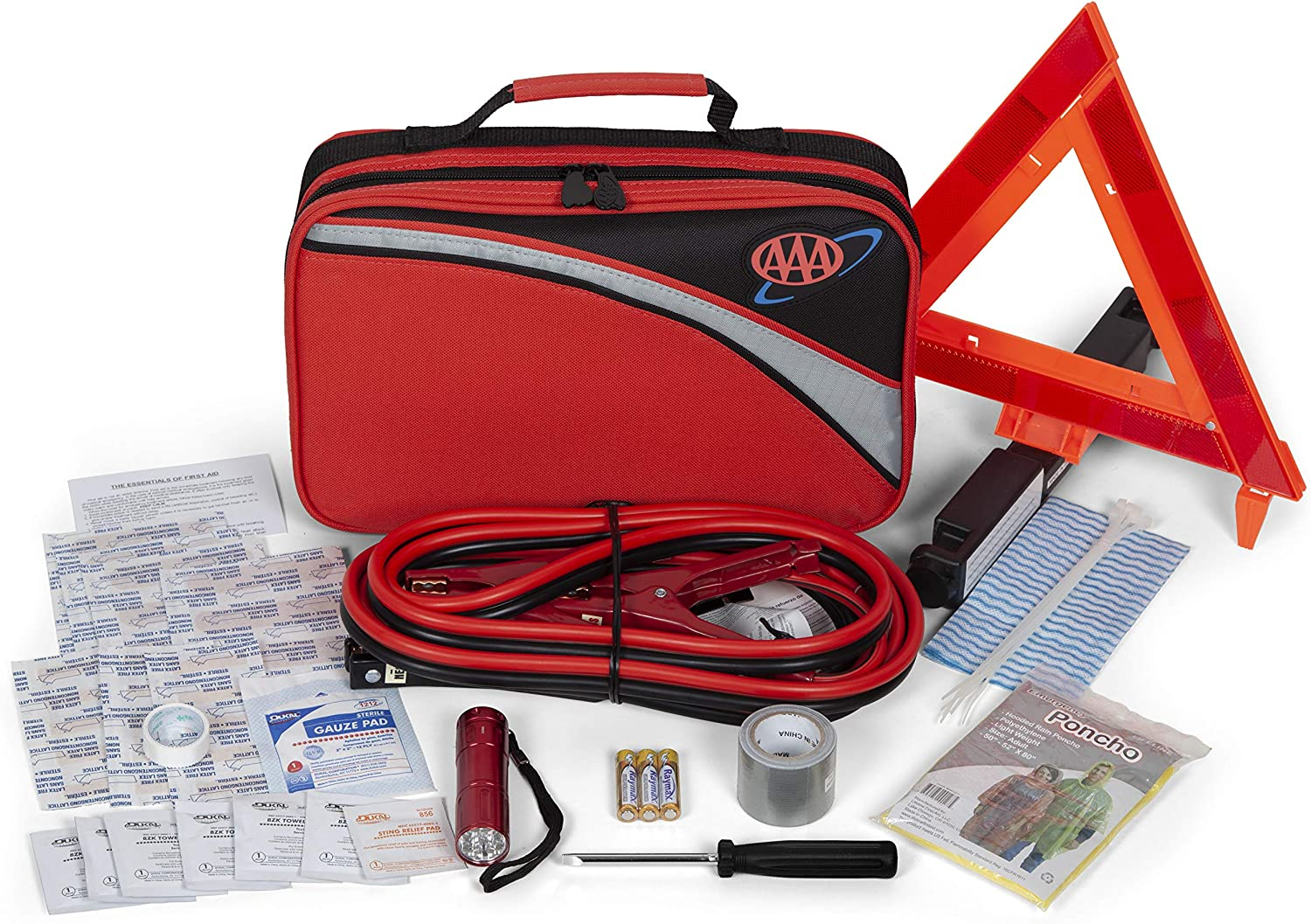 AAA 64 Piece Premium Traveler Road Kit: Automotive