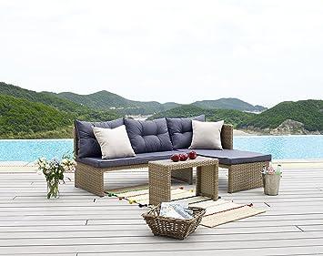 Hti Line Terrassenmobel Mallorca Loungemobel Gartenmobel Garnitur