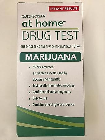 At Home Drug Test >> Amazon Com Quickscreen At Home Drug Test Marijuana Health