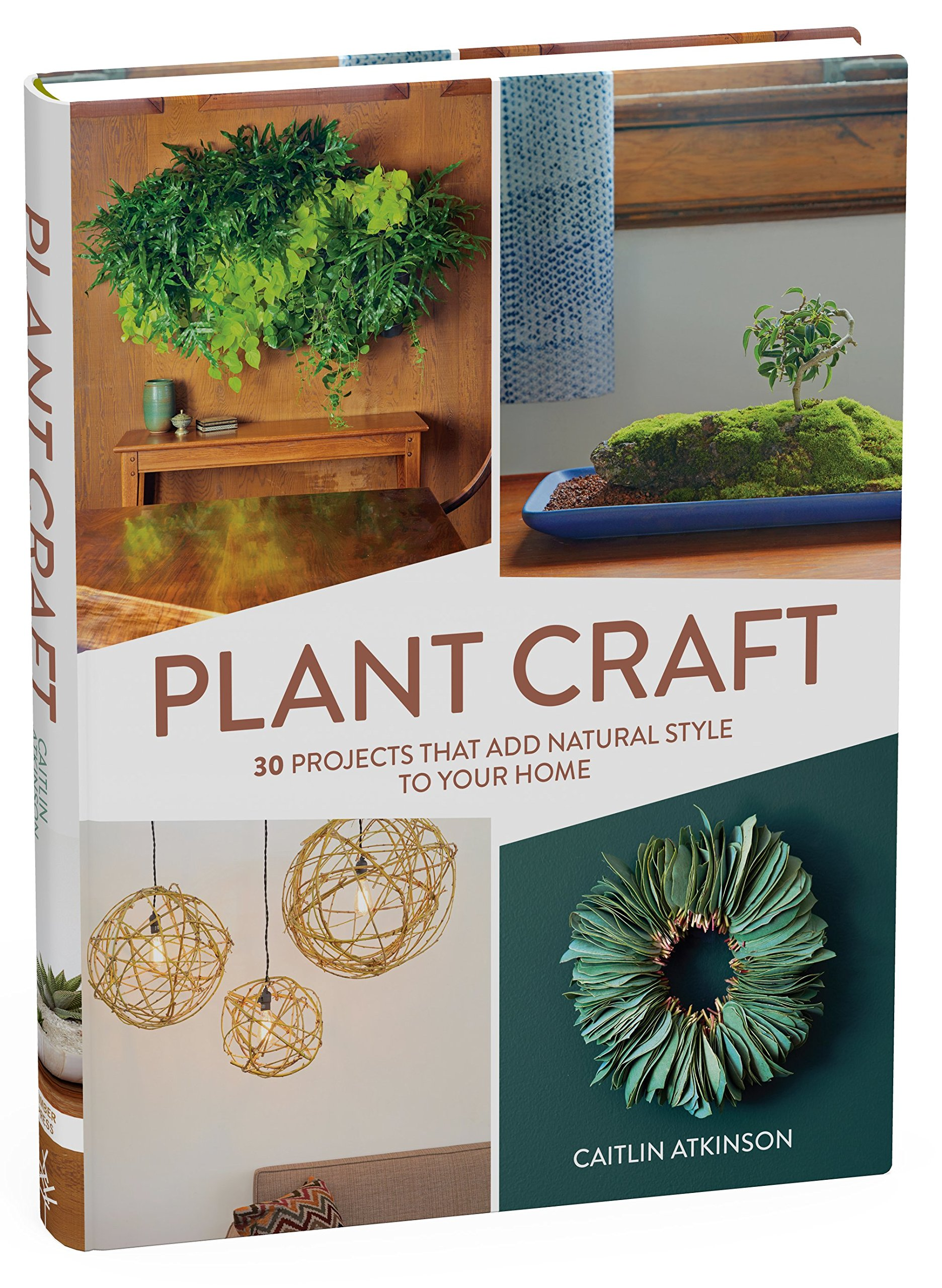 plant craft 30 projects that add natural style to your home caitlin atkinson amazoncom books