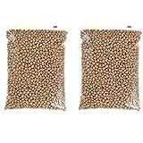 素煎り 大豆 1㎏(500gパック 2袋入り)無塩・無植物油