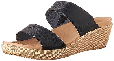 1256478dcf266 Crocs Women s A Leigh 2 Strap Mini W Wedge Sandal