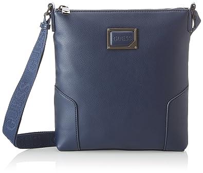 55257505af Guess Bags Crossbody, Sacs portés épaule homme, Bleu (Blue), 3x25x23 ...
