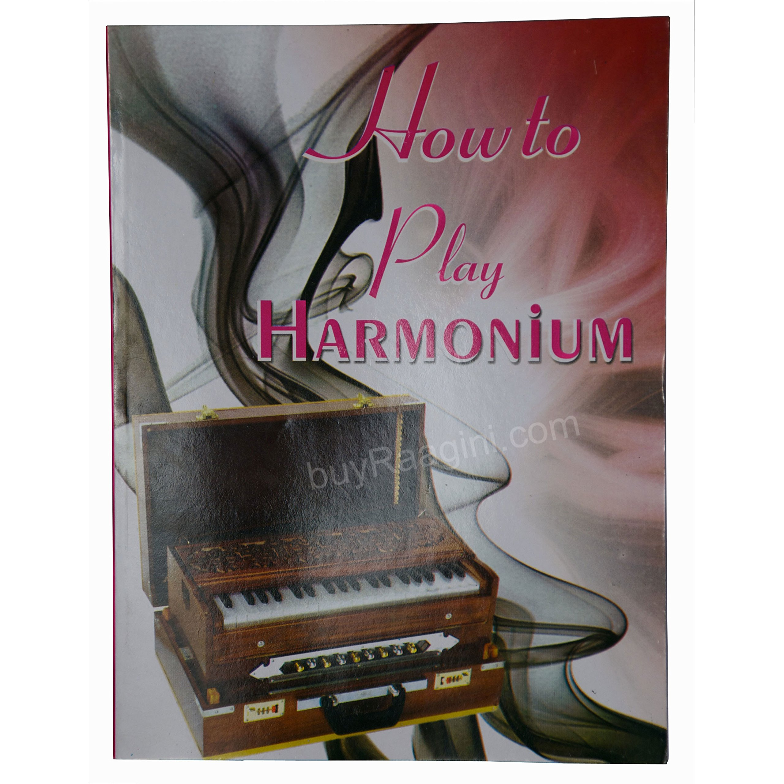 Harmonium Instrument, BINA No. 17B, In USA, Standard, 9 Stops, 3 1/2 Octaves, Rosewood Color, Tuned To A440, Coupler, Special Reeds, Bag, Book (PDI-AIG)