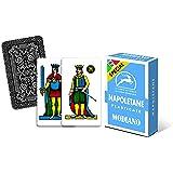 Modiano 300031 - Set Modiano Napoletane, Special Azzurre, Cartoncino Triplo, Azzurro, 40 Pezzi