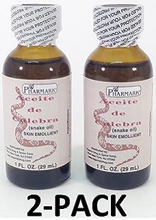 Aceite De Culebra 1 Oz. Snake Oil 2-PACK