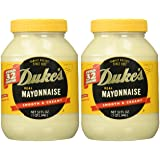 Duke's Mayonnaise, 32-ounce Jar - Pack of 2