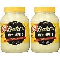 Duke's Mayonnaise, 32-ounce Jar - Pack of 2
