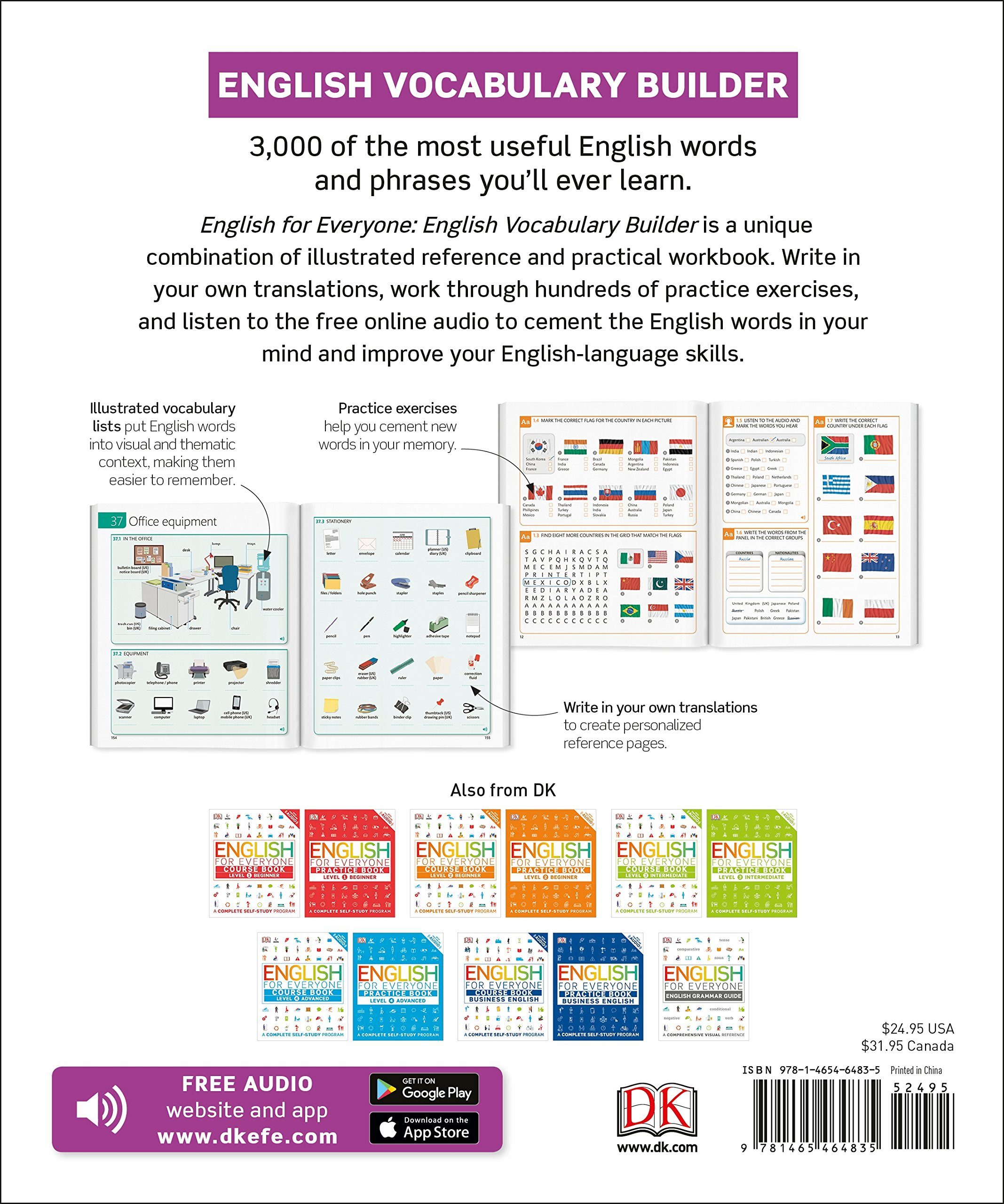 Amazon com: English for Everyone: English Vocabulary Builder