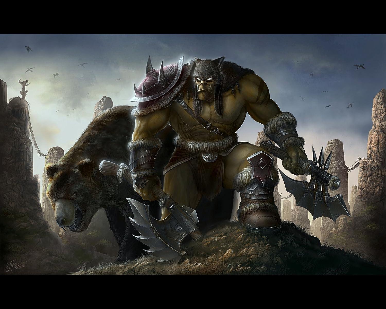 Amazon Com World Of Warcraft Wow Horde Wall Poster 1 Print Art