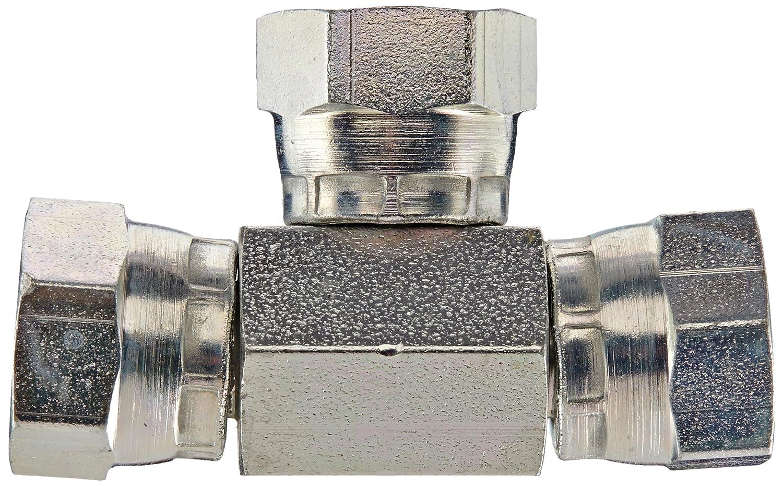 1//4NPSM Female Eaton Weatherhead 9705X4X4X4 Carbon Steel Fitting Tee Swivel
