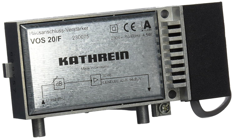 Kathrein VOS 20/F Hausanschluss-Verstärker: Amazon.de: Elektronik