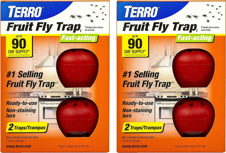 Terro T2503SR Fruit 4 Traps
