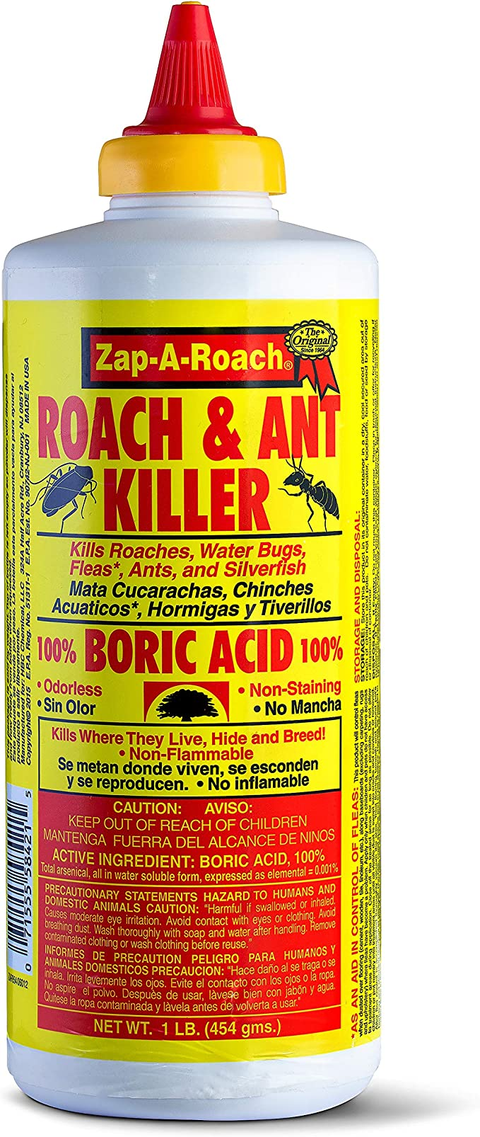 Amazon Com Boric Acid Roach Ant Killer 6 Pack Garden Outdoor