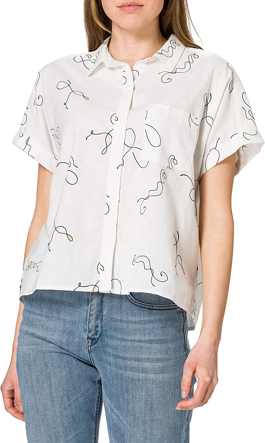 Levis Laney SS Button Down Camisa para Mujer