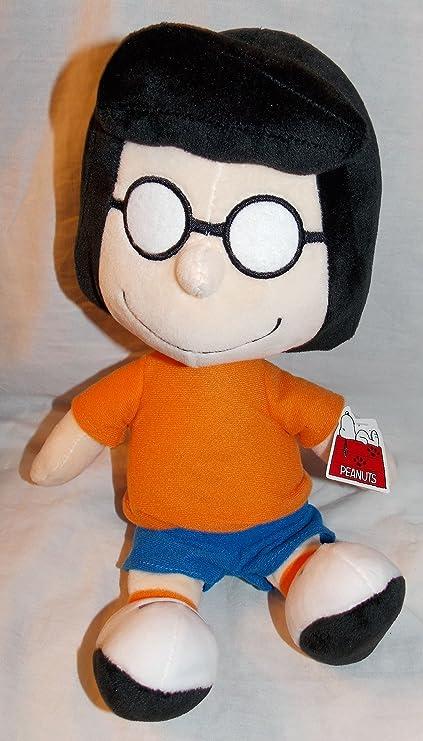 Amazon Com Peanuts Plush Stuffed 13 Marcie Doll Toys Games