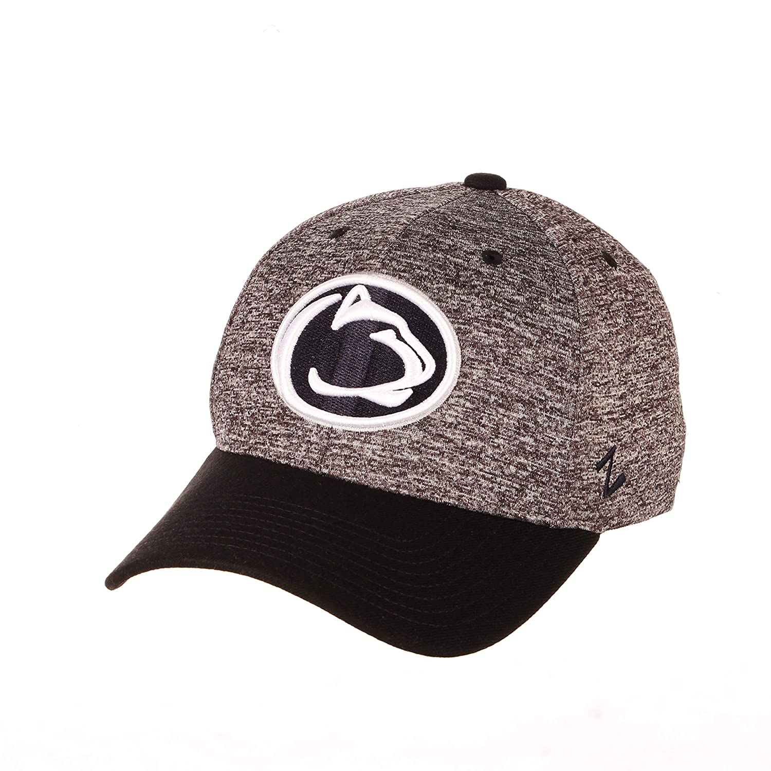 NCAA Zephyr Penn State Nittany Lions Mens Interference Z-Fit Hat X-Large Charcoal//Black