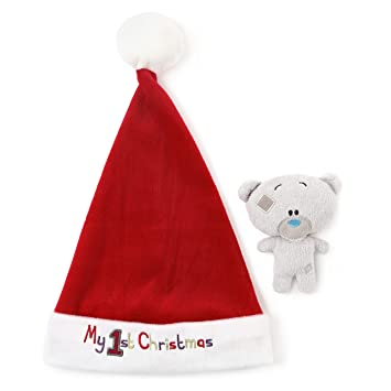 Image Unavailable. Image not available for. Colour  Tiny Tatty Teddy Me To  You My 1st Christmas Santa Hat ... 917cdee3f98