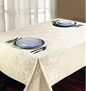 Marvelous Regal Home Collections Laura Rose Damask Rectangular Tablecloth, 60 Inch  Wide By 84