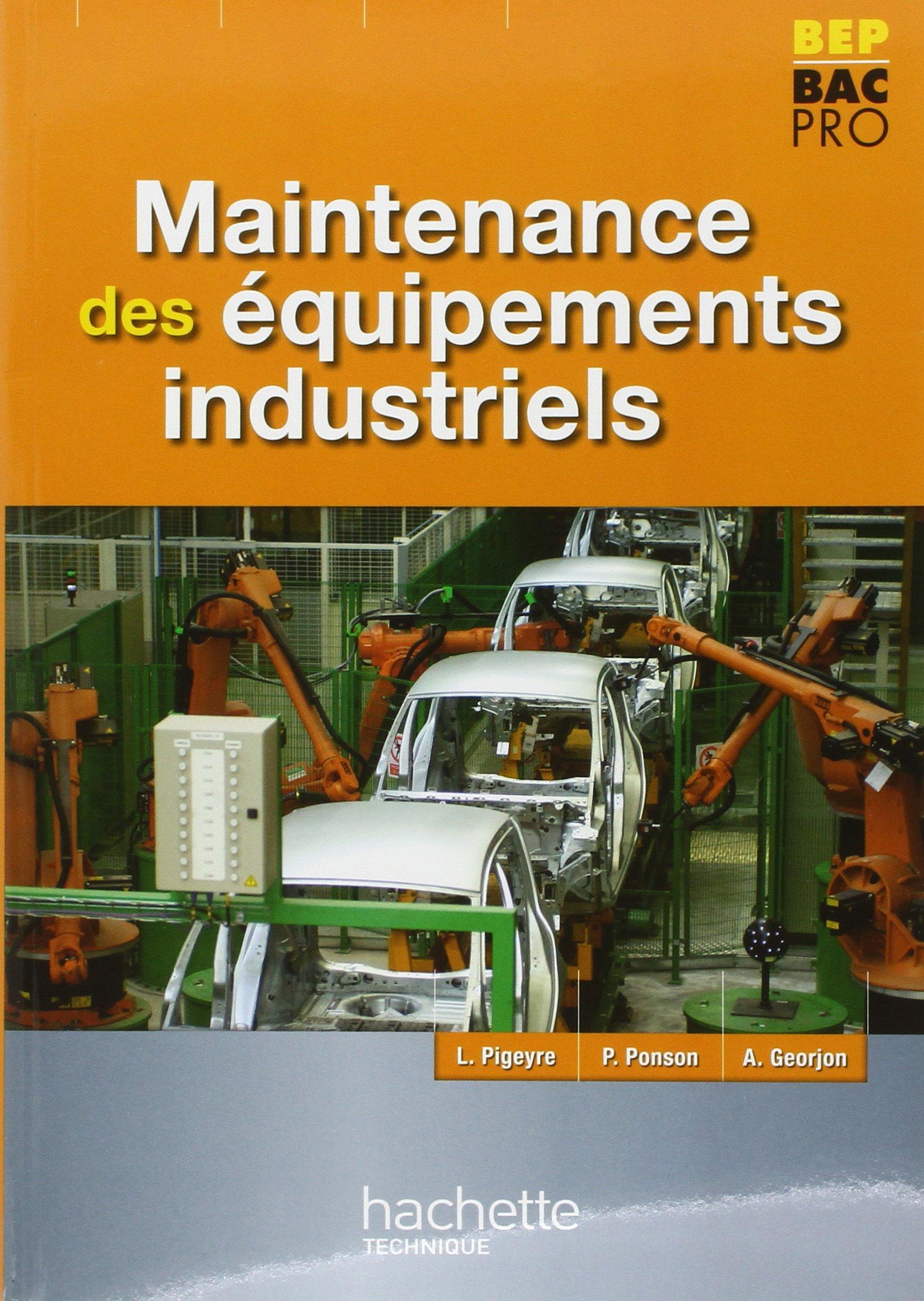 Bien connu Amazon.fr - Maintenance des Equipements industriels BEP Bac Pro  EJ96