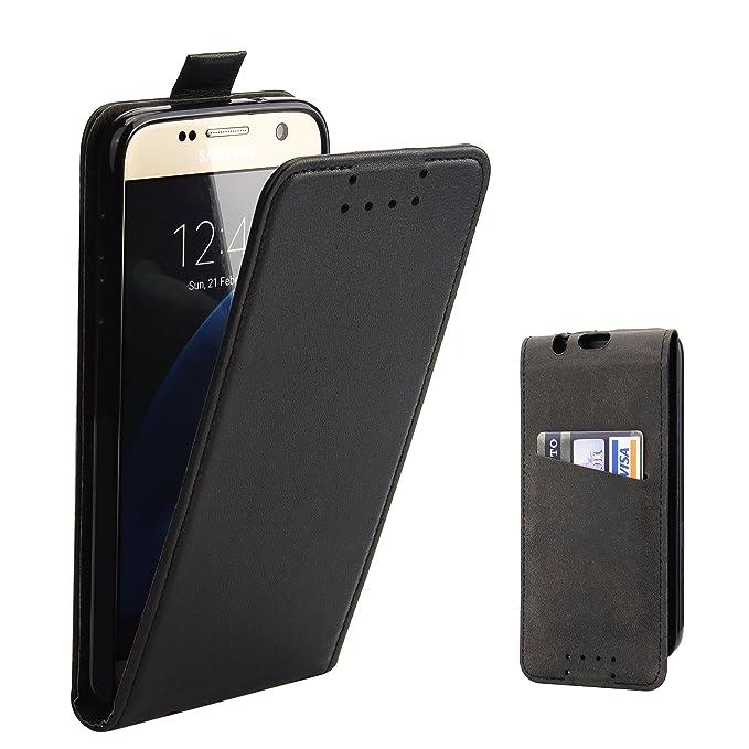 5 opinioni per Custodia Galaxy S7- SUPAD® Ultra sottile Custodia Flip Case In Pelle per Samsung