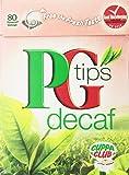 PG Tips Decaf 80 Ct Tea Bags - 4 Pack