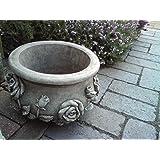 Blumentopf, Handgefertigt aus Stein, Gartendekoration