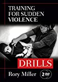 """Training for Sudden Violence: DRILLS 2-DVD set (YMAA) Rory Miller, author of """"Meditations on Violence"""" **BESTSELLER**"""