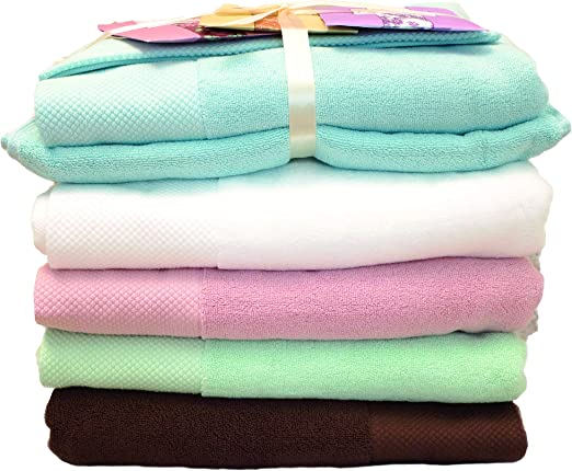 100/% Cotton Face Towels Thick Egyptian Cotton Hand Face Towels Terry Towels