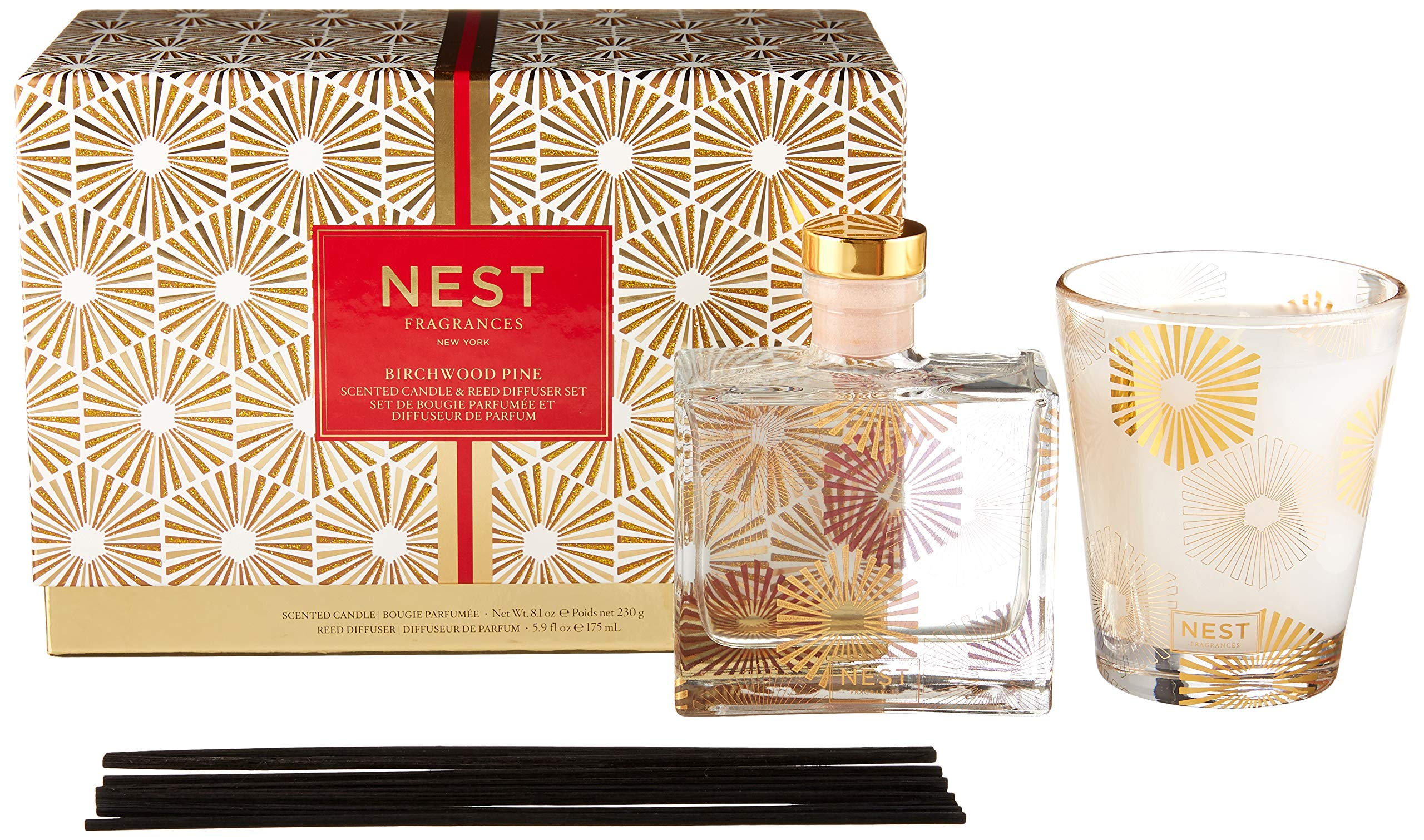 NEST Fragrances Candle & Reed Diffuser Set by NEST Fragrances