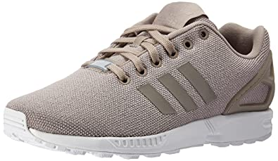 shopping zx flux grey and silver 7b381 36264