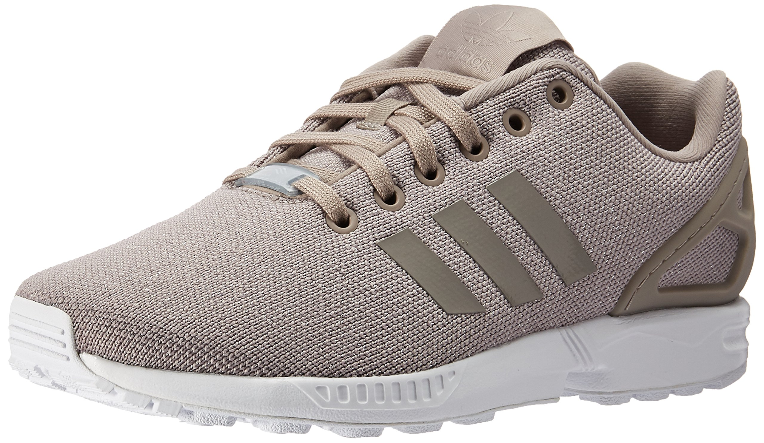 the latest e4db8 615ec adidas Originals Women's ZX Flux W Running Shoe Sneaker, Vapour Grey/Silver  Metallic, 5.5 M US