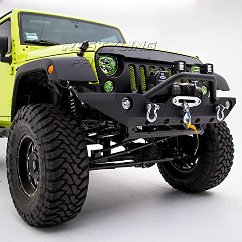 Restyling Factory Jeep Bumper